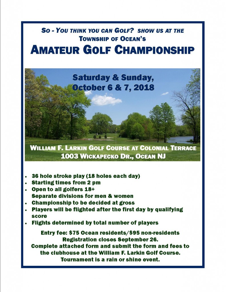Amateur Championship II